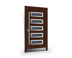 Top Design INOX | Moderne Haustüren<br>Top Design Plus, Holztüren PARMAX